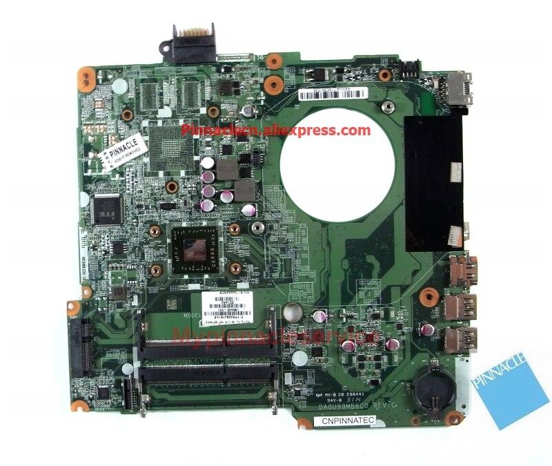 785442-501 A8-6410 Motherboard for HP Pavilion 15-F 15-F128CA  DA0U99MB6C0