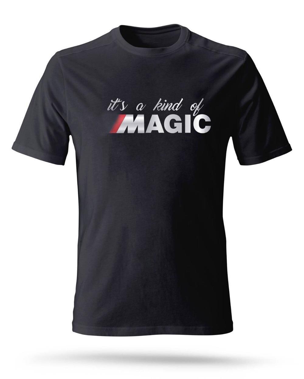 2019 Hot Venda Nova Dos Homens Camisa de T Dos Homens Alemanha Carro Clássico M T-shirt Poder-é UMA Espécie de magia E30 E36 E46 T Camisa camiseta