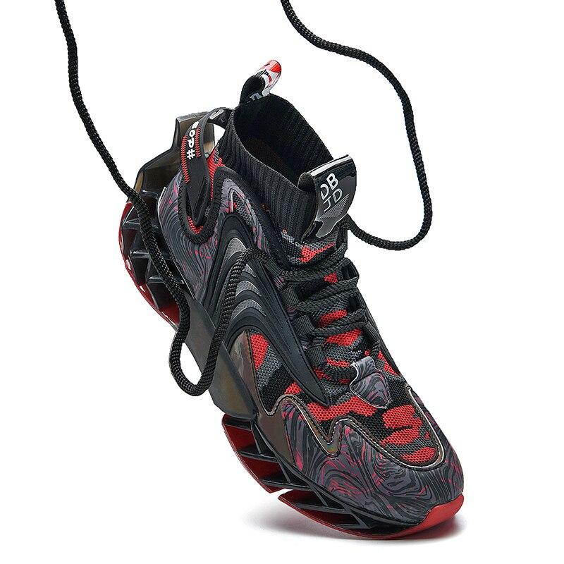 Кроссовки MILIKUYOU мужские теннисные, стильные кеды с лезвиями, роскошная обувь для тренировок, оригинальные беговые кроссовки, 2021