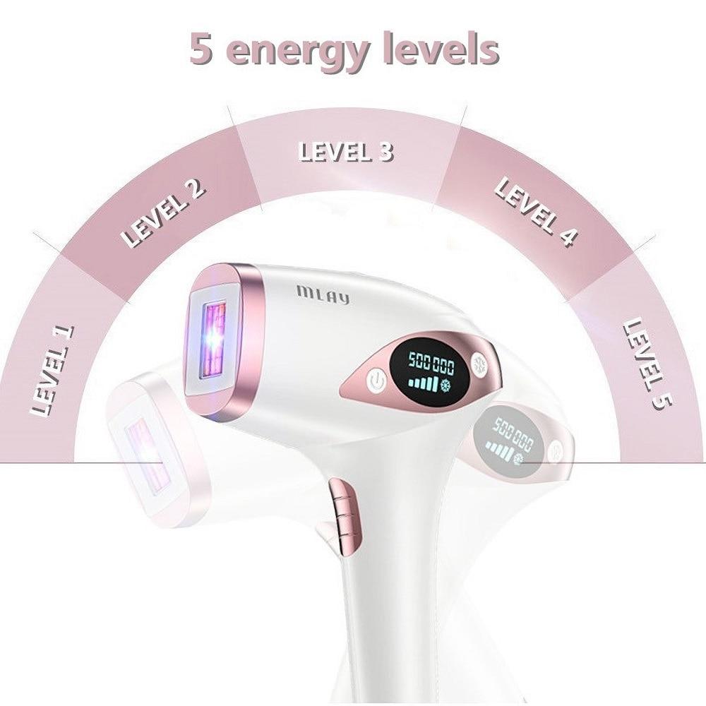 MLAY Laser Hair Removal Device Epilator for Women Home T4 Depilador Body  Face Bikini Household Electric Appliances Depilator enlarge