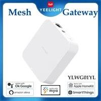 Yeelight     Hub de passerelle de maille YLWG01YL  dispositif de support pour les produits declairage de maille compatibles avec alexa ehco Homekit siri Mijia App