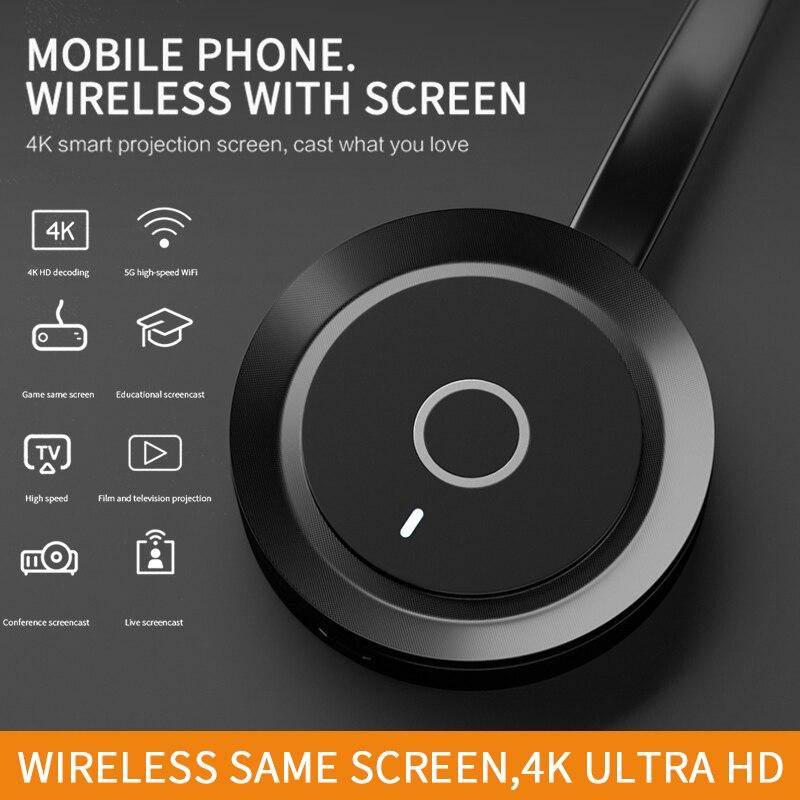 Receptor inalámbrico HDMI TV WiFi 2,4G 5G adaptador Dongle pantalla 1080P HD Airplay Miracast accesorios para pantalla de teléfono móvil