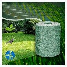 W magazynie biodegradowalna mata do nasion trawy 20x300cm mata do nasion Starter ekologiczny koc przyjazny dla środowiska HighQuality Dropshipping