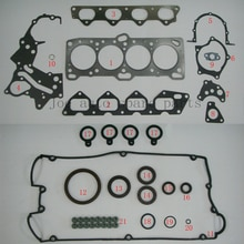 G4CP G4CPD G4CPDM 16V 엔진 Hyundai Sonata/Kia Joice 2.0L 용 가스켓 세트 키트 1997cc 1993-2002 50173300 20910-33D02