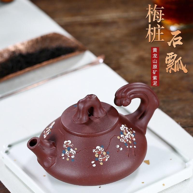 Fabricantes suministran productos yixing recomendados al por mayor famoso manual puro puede pila de piedra calabaza cucharón suministros tiendas