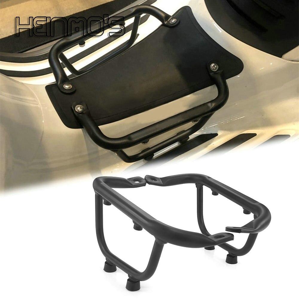 ل VESPA Sprint Primavera 125 150 2013 - 2021 دراجة نارية الملحقات شبكة رف أمتعة حامل حزمة مسند القدم قوس الأوسط