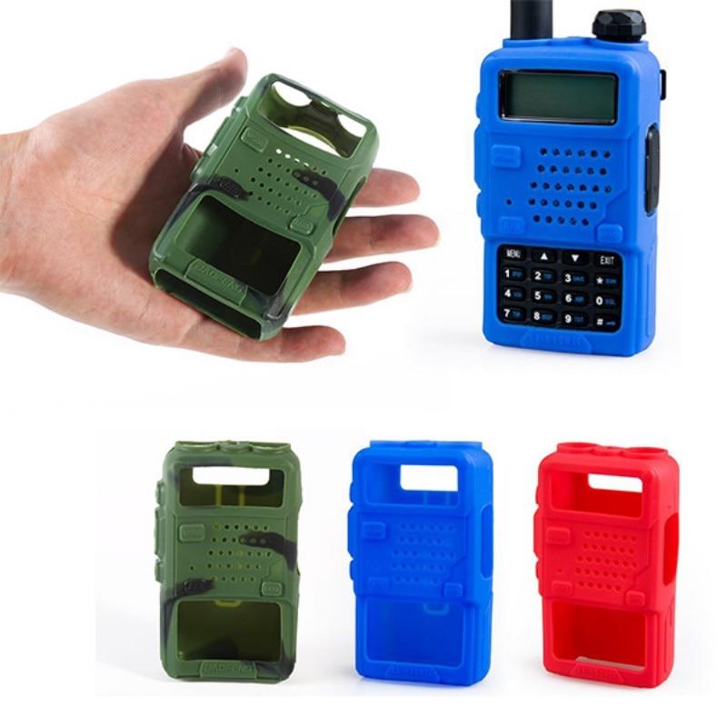 1 funda protectora de walkie-talkie Greatlizard, funda protectora anticaídas, accesorios para walkie-talkie