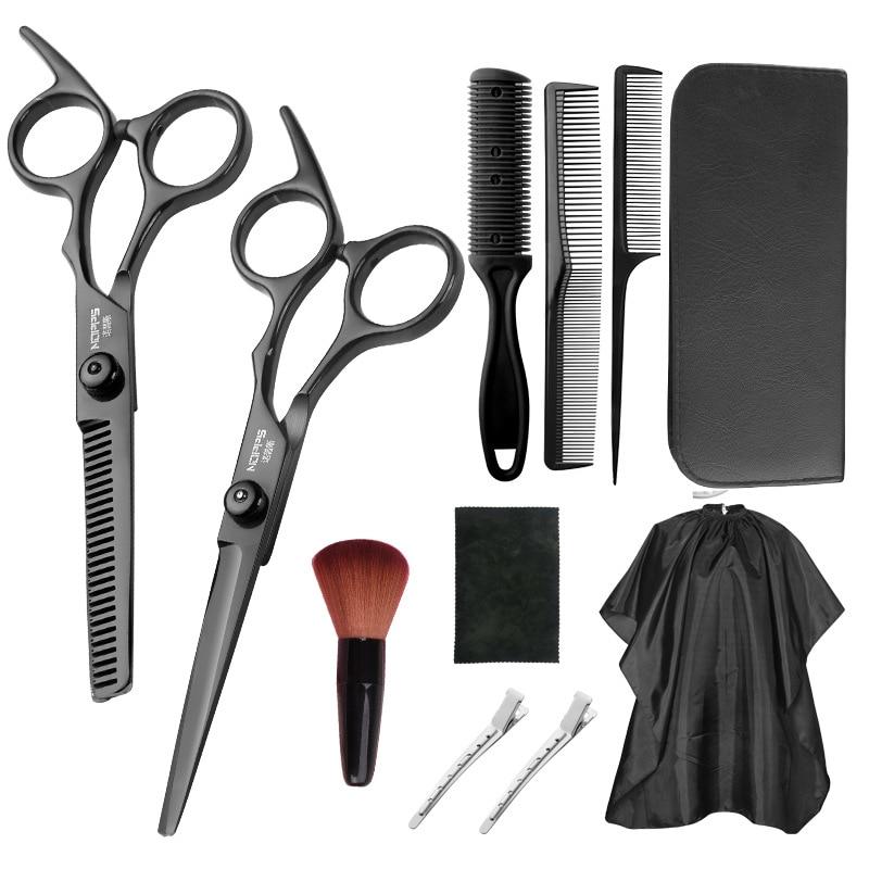 Professional Hair Scissors Cut Hair Cutting Salon Scissor Makas Hairdresser Tool Tail Comb Sharp Bla