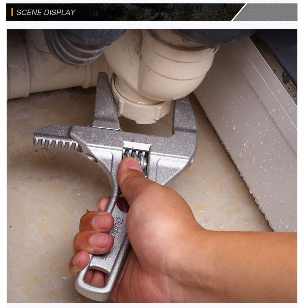 AI-ROAD Water Pipe Wrench for bathroom pipes