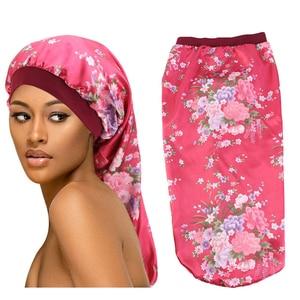 2020 wholesale vendor selling luxury brand designer bonnets and durags set for women