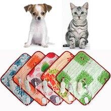 25# Pet Electric Heating Blanket Cat Electric Heated Pad Anti-scratch Dog Heating Pad Sleeping Bed Winter Warm Blanket 40*60cm