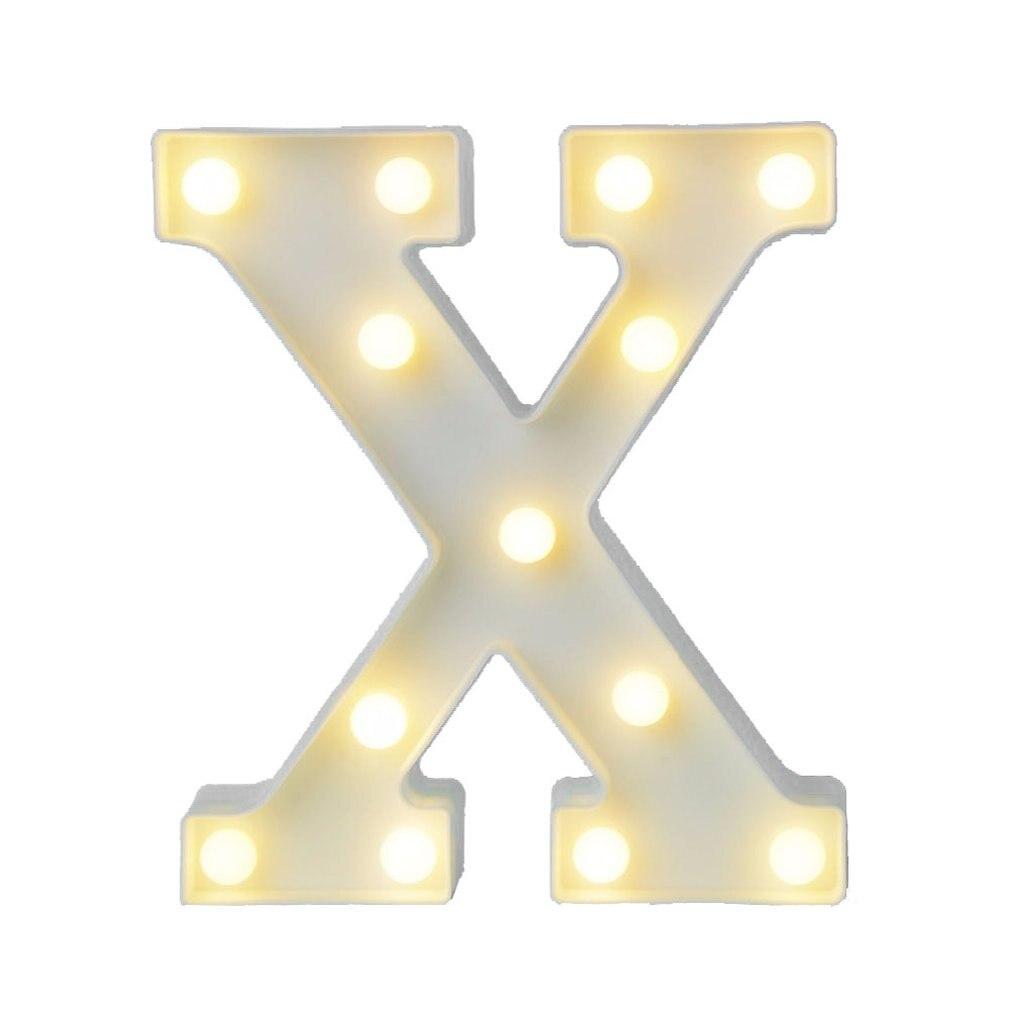 Хит продаж, светодиодная лампа с буквами на английском языке, лампа для моделирования символов, Свадебный цифровой светильник, предложение ...