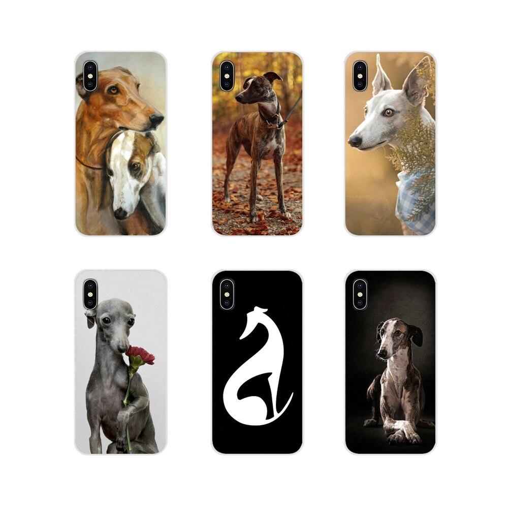 Аксессуары для телефонов Чехлы для Apple iPhone X XR XS 11Pro MAX 4S 5S 5C SE 6S 7 8 Plus ipod touch 5 6 Galgo Greyhound Dog