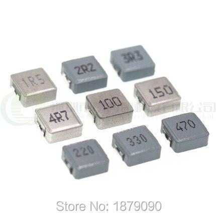 Бесплатная доставка 10 шт 0420 6R8M 6.8UH 6R8 4*4*2 мм высокая сила тока 1.5A-3A литья катушки Питания SMD интегрированные Индукторы