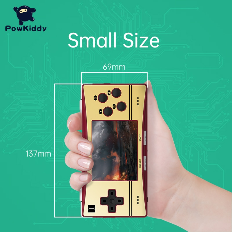 New RG300M Retro Handheld Game Console 3.0 inch IPS Game Device Linux System Double TF Design For PS1 Children Game Player enlarge