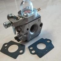 3pcs wt460 carburetor kit for emak oleo mac efco trimmerbrushcutters wt460 walbro type gasoline brushcutters washer accessory