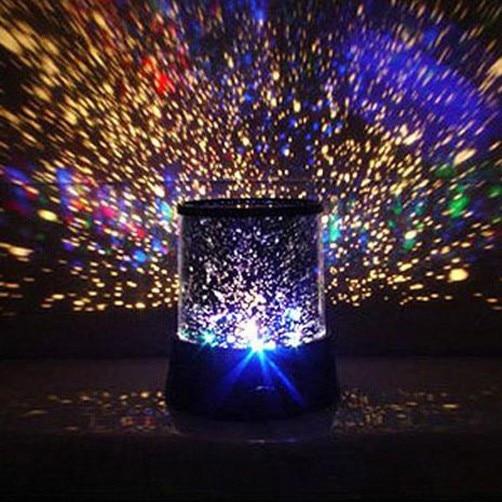 Nieuwe Verbazingwekkende Led Kleurrijke Star Master Sky Starry Night Light Projector Lamp Gift Лампа Светильник X2