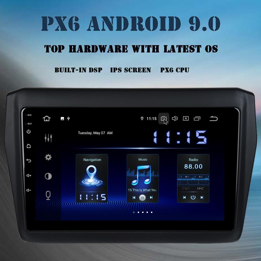 Автомагнитола на Android 9,0 для Suzuki Swift 2018 Ertiga, gps навигация, экран ips 9 дюймов, встроенный DSP HDMI, 4 Гб + 64 ГБ, Wi-Fi, Bluetooth, RDS