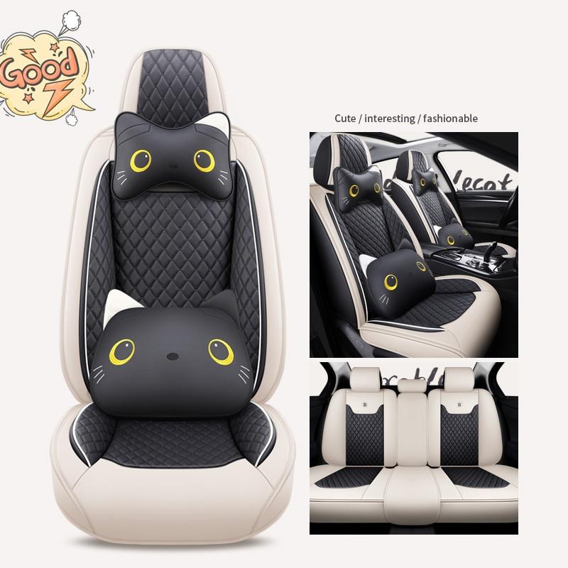 Cubierta de asiento de coche para chrysler 300c pt cruiser phev accesorios