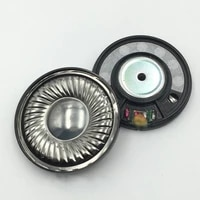 hifi 50mm monitor headphone speaker unit 16ohm headset driver earphone repair parts deep bass titanium film sound good 2pcs
