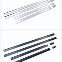 for Volkswagen 19 new touareg door edge strip body trim stainless steel trim exterior modification special