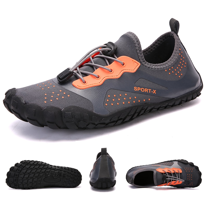 Aqua Shoes Barefoot Men Beach Shoes For Women Upstream Shoes Breathable Hiking Sport Shoe Quick Dry River Sea Water Sneakers