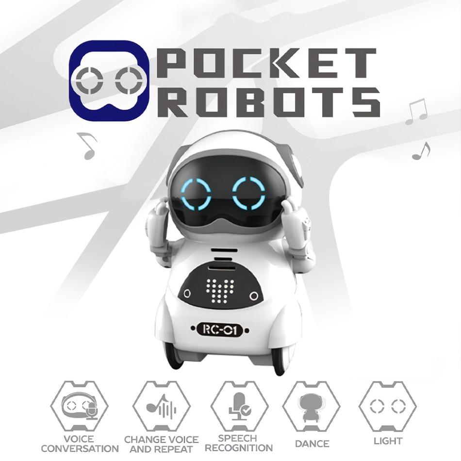 939A روبوت صغير RC يمكن التعرف على الصوت التفاعل الصوتي الذكية جيب روبوت مجموعة لعب رقص وغناء رواية القصص لعبة تعمل بالريموت الصغيرة هدية