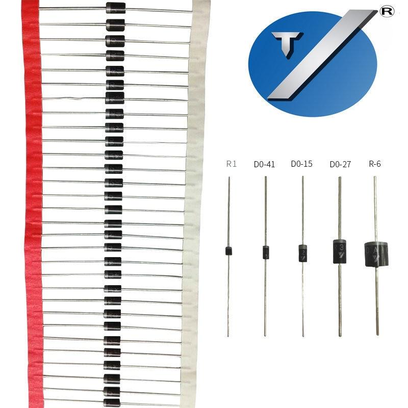 Libre de tomar forma GP10A diodo rectificador de hacer-41 paquete 1A50V de GP10A
