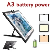 a3 tracing light box magnetic portable led tracing light pad for painting drawing art supplies ultra thin adjustable scale
