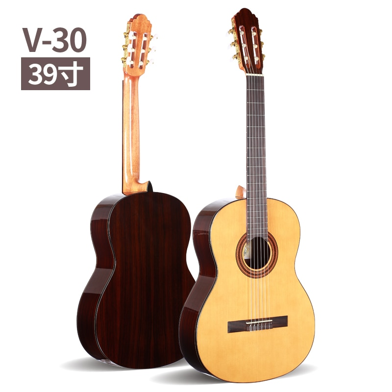 39 inch Acoustic Classical guitar,VENDIMIA Spruce /Rosewood Acoustic guitarras,classical guitar with Nylon string + STRINGS
