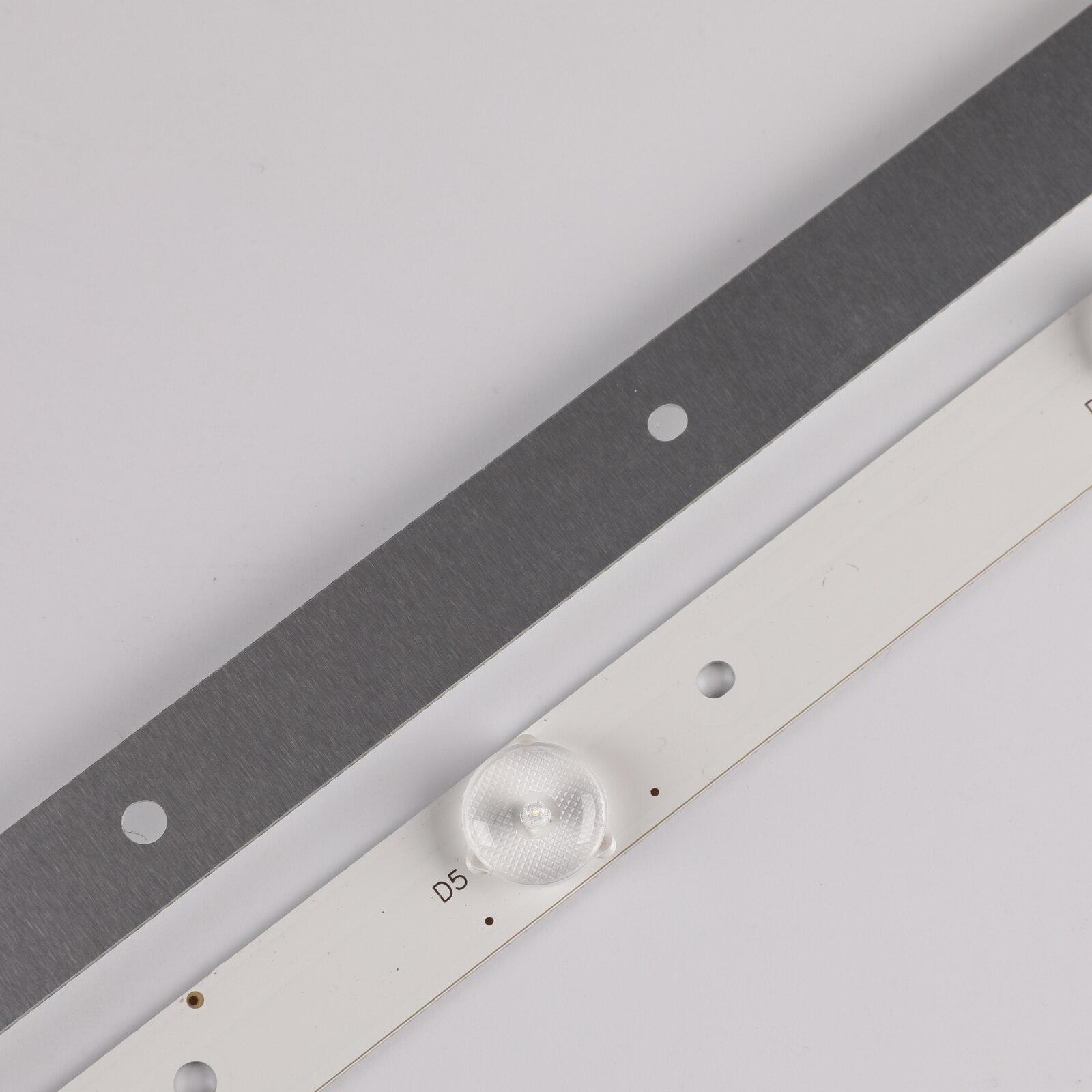 100% New 5pcs/Kit LED strips for HAIER TV 43CH6000 LE43A3300 TPT430H3 DUYSHA LB PF3528 GJD2P5C435X10 H LB PF3528 GJD2P5C435X10 B enlarge