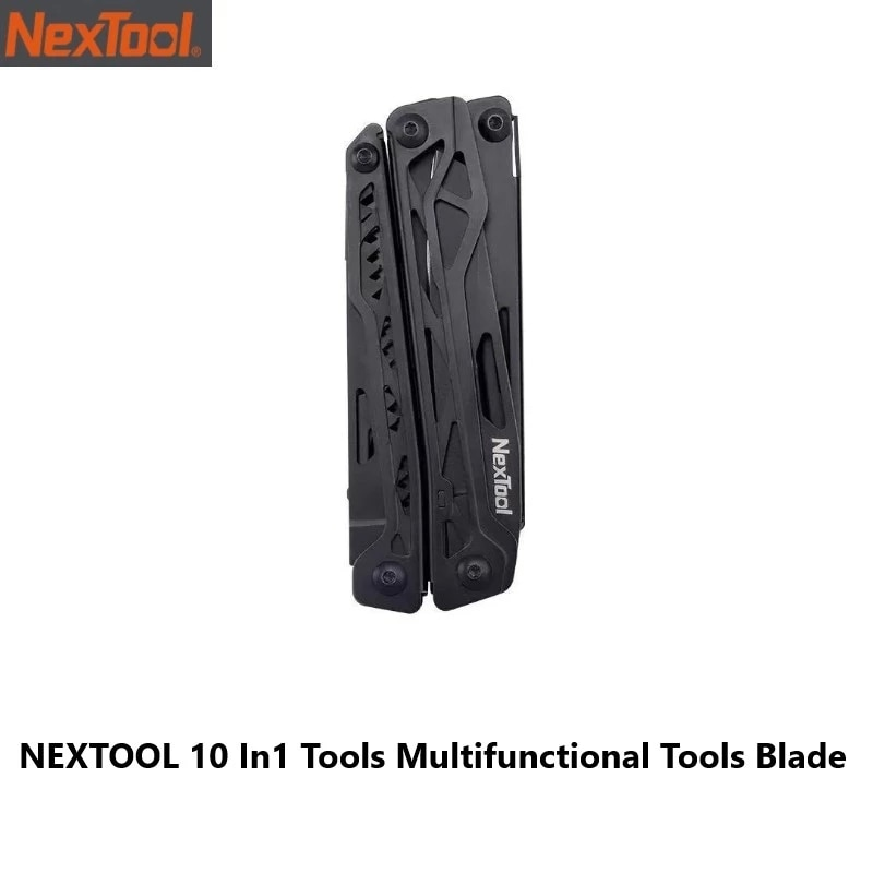 InStock الرسمية Nextool 10 In1 أدوات متعددة الوظائف أدوات شفرة للطي كماشة التخييم التنزه الدراجات المحمولة مقص فتاحة