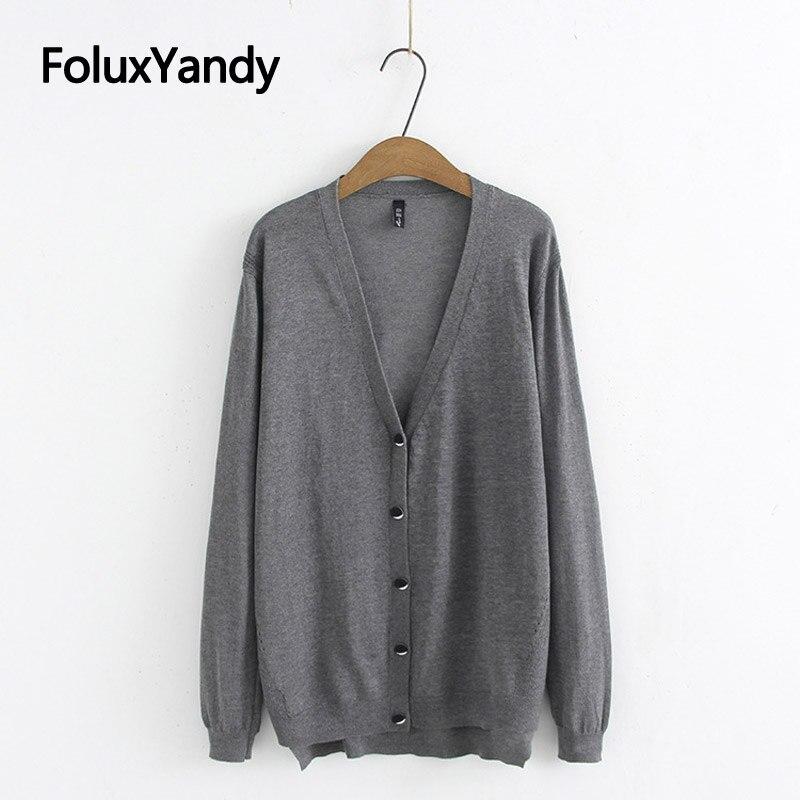 Dünne Sommer Pullover Frauen Strickjacken Strick Casual V-ausschnitt Plus Größe Langarm Pullover 3 4 5 XL KKFY4388