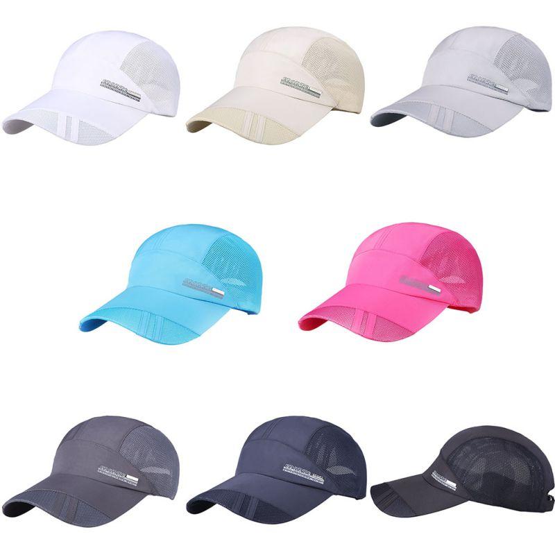 De verano Unisex deporte al aire libre sombrero corriendo gorra caliente Popular de béisbol gorra de deporte al aire libre ajustable sombrero