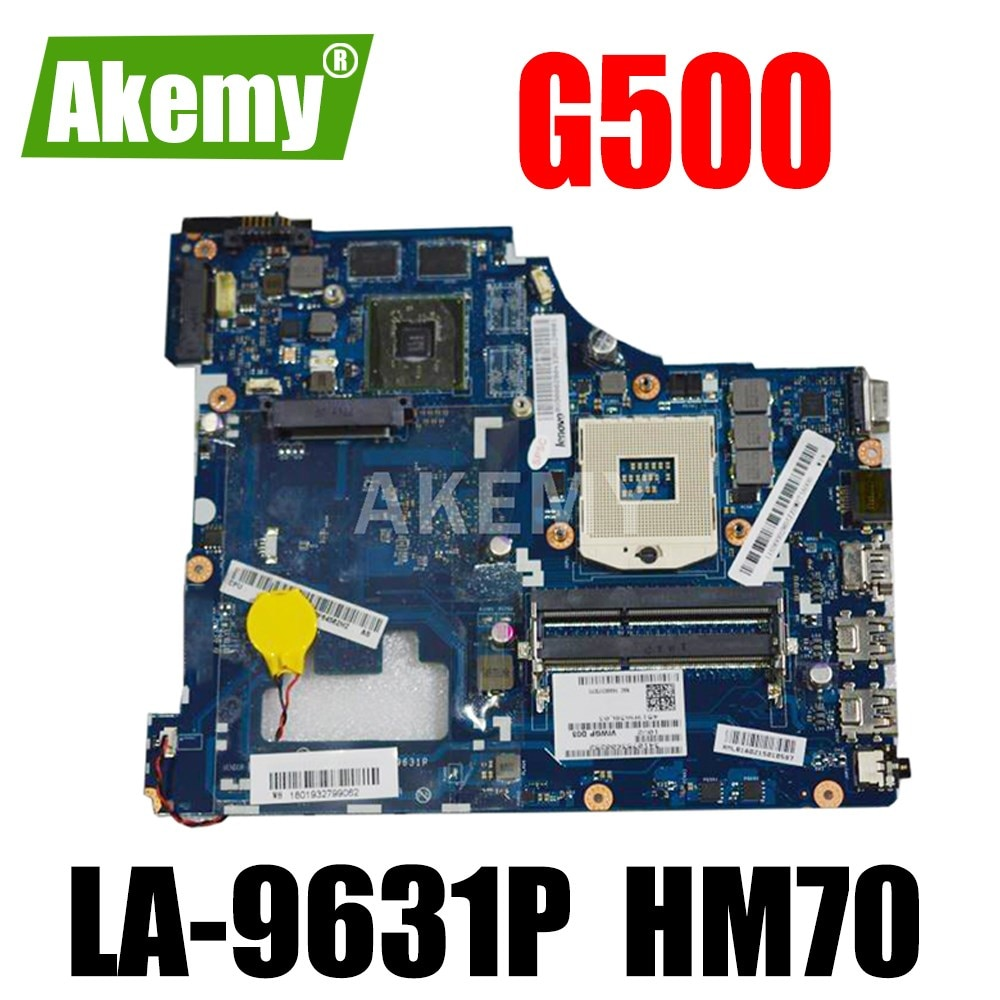 ERILLES LA-9631P اللوحة الأم للكمبيوتر المحمول Lenovo G500 VIWGP / GR LA-9631P HM70 اختبار