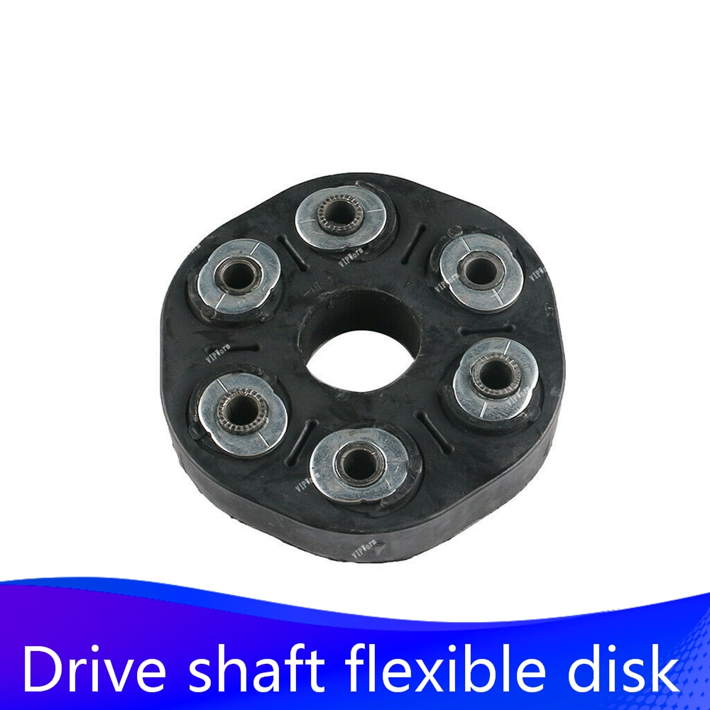 Car Center Propshaft Joint Mount Coupling Drive Prop Shaft Flex Disc For BMW E60 E61 E63 E65 E66 X3 E83 540i 545i 26117542238