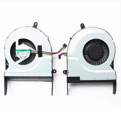 Nueva CPU ventilador para ASUS N551J N551JW N551JK G58V G58VW N551V N551VW N551VM N551 N551Z N551ZU N751JK MF75090V1-C330-S9A C331 C332