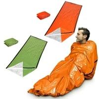 emergency sleeping bag thermal waterproof for outdoor survival camping hiking emergency gear compact windproof durable