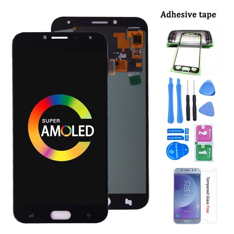 Original Super amuled para Samsung Galaxy J4 2018 J400 J400F J400G/DS SM-J400F pantalla LCD con montaje de digitalizador con pantalla táctil