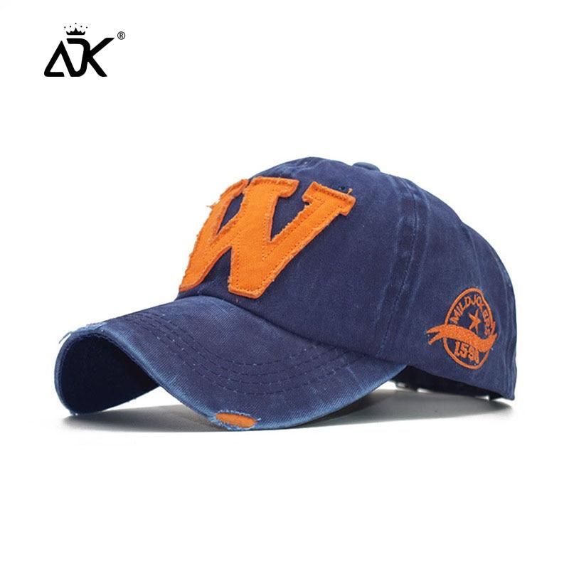 Gorra de béisbol bordada con letras para hombre gorras de alta calidad sombreros de papá de moda para mujer gorras de Snapback informales de algodón lavado Unisex sombreros