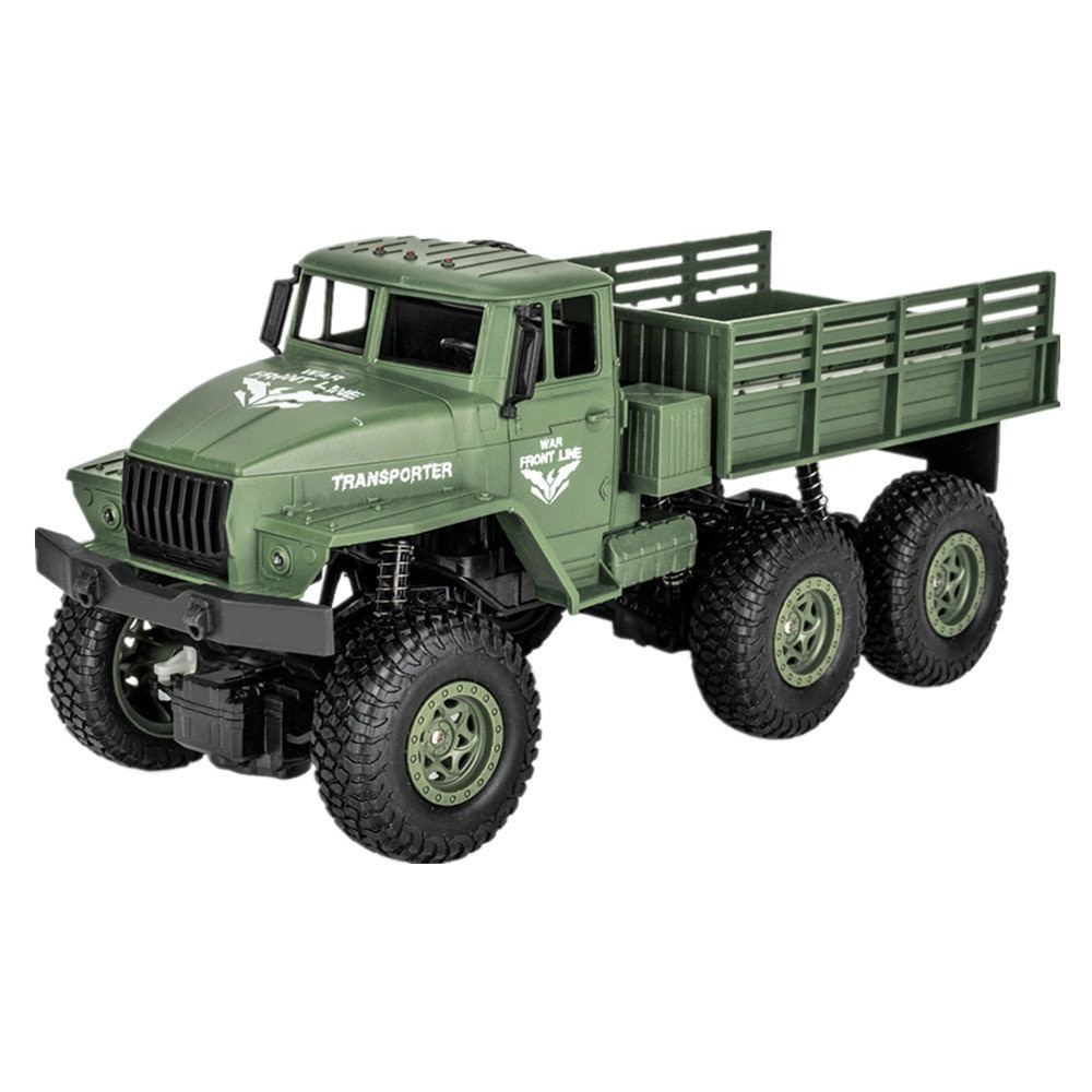 Q68 Q69 Six Remote jun ka off-Road Vehicle Four-Wheel Drive Simulation Military Model 1:18 Children's Toys