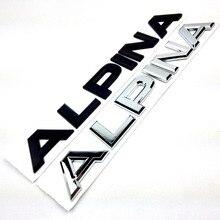 Car Sticker Trim  ALPINA Letter Trunk Rear Emblemrefit Creative Car Stying Sticker For BWM Alpina