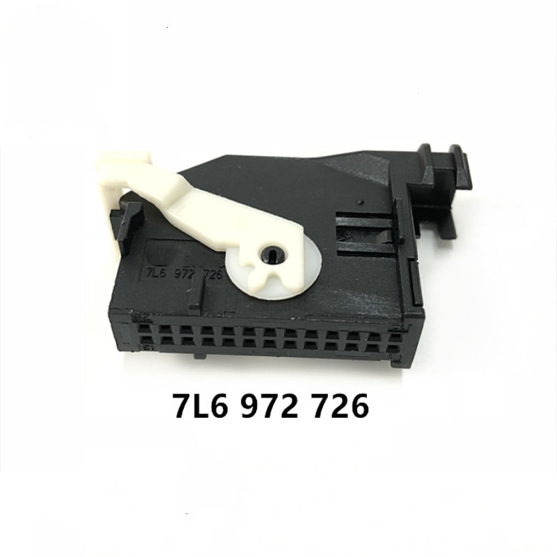 26 Pin/Way Media Retrofit Connector Navigation Controller Plug Socket Housing With Terminal For Volkswagen AUDI 7L6 972 726