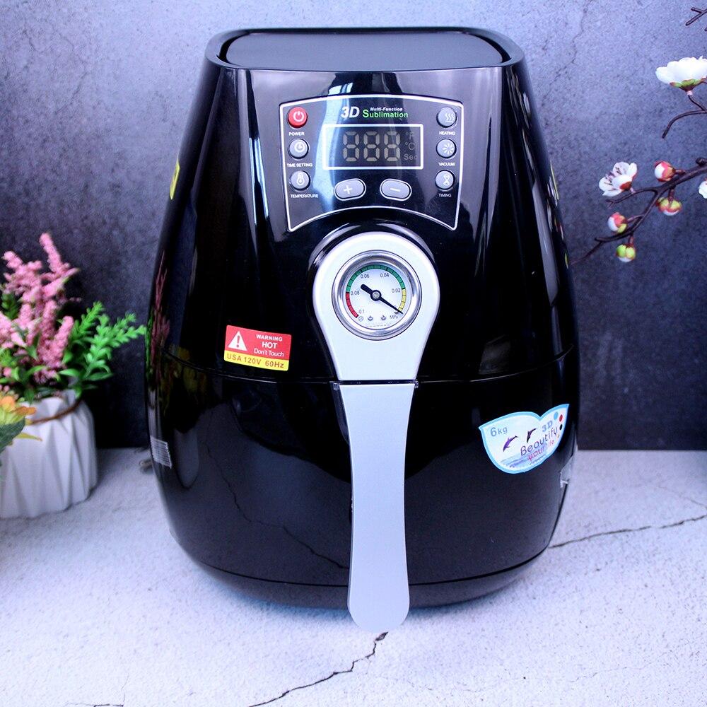 Мини-сублимационная вакуумная машина ST 1520 3D, термопресс для фотографий, термопресс для кружек, ячеек, чашек для принтера