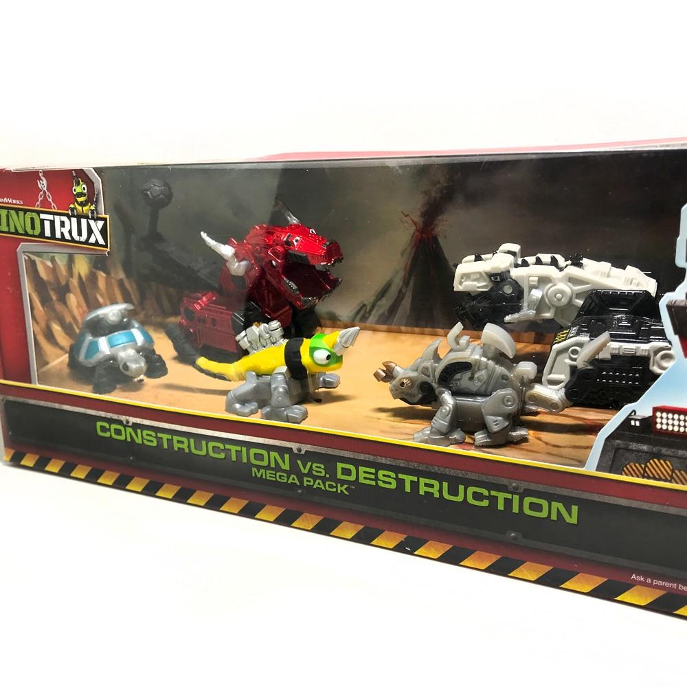 ل Dinotrux ديناصور شاحنة القابلة للإزالة لعبة على شكل ديناصور سيارة مصغرة نماذج جديد هدايا للأطفال اللعب نماذج من الديناصورات البسيطة ألعاب أطف...