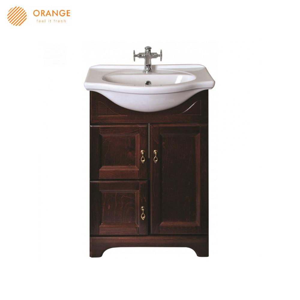 Gabinetes de baño naranja F7-60TU muebles baños del hogar de pedestal pedestales al aire libre
