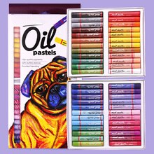 Pastel à lhuile artiste étudiant Graffiti doux Pastel peinture dessin stylo fournitures dart papeterie scolaire lavable doux ensemble de crayons