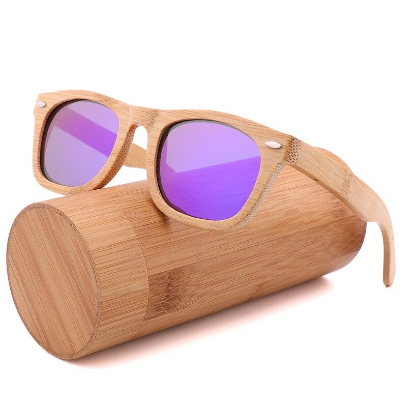 2020 ريترو اليدوية نظارة شمسية من خشب البامبو ساحة السيدات الاستقطاب UV400 الرجال الاستقطاب القيادة النظارات الشمسية للرجال والنساء
