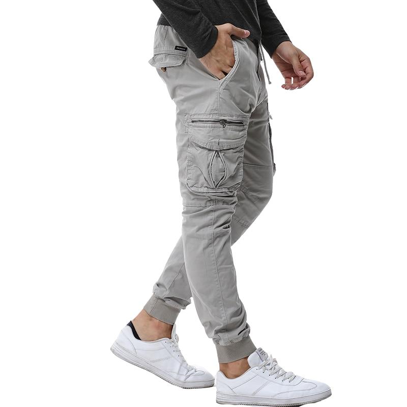 Мужские камуфляжные тактические брюки-карго 2020, мужские джоггеры, армейские повседневные хлопковые брюки в стиле милитари, хип-хоп, с ленто...