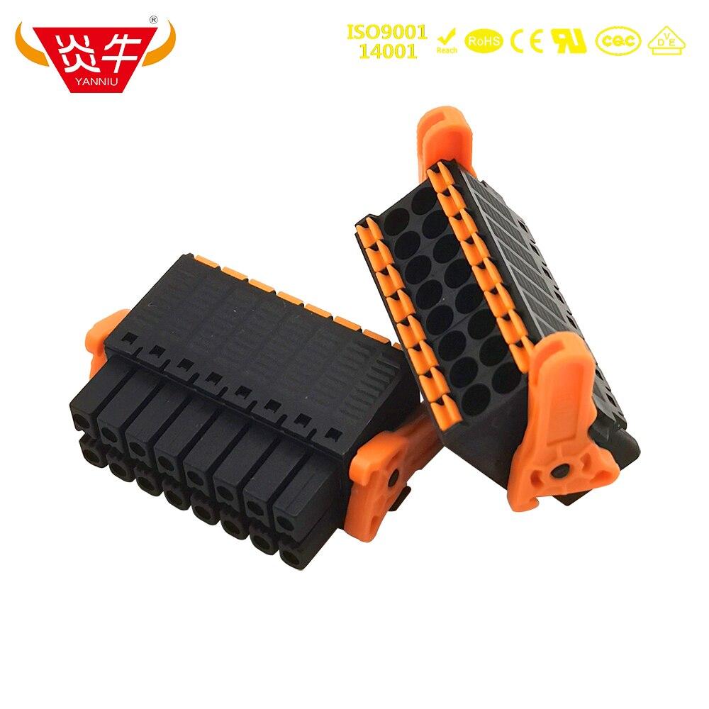 3.5mm 15EDGKNHG KF2EDGKSG DFMC 1,5/ 4-ST-3,5-LR - 1790506 FEMALE PCB CONNECTOR PLUGGABLE PLUG-IN TEMINAL BLOCKS PHOENIX YANNIU